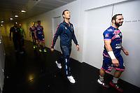 Jerome Fernandez / Mathieu Lafranqui - 01.04.2015 - Toulouse / Cesson Rennes - 19eme journee de Division 1<br />Photo : Manuel Blondeau / Icon Sport