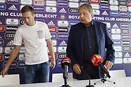 Robert Beric and Josue Sa join RSC Anderlecht - 1 Sept 2017