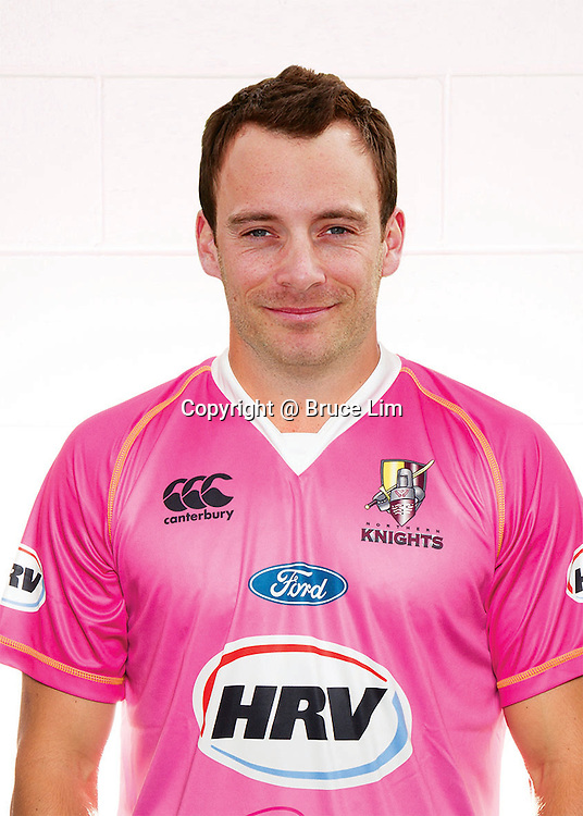 James Foster, Northern Knights squad headshots 2012/2013...Photo: Bruce Lim