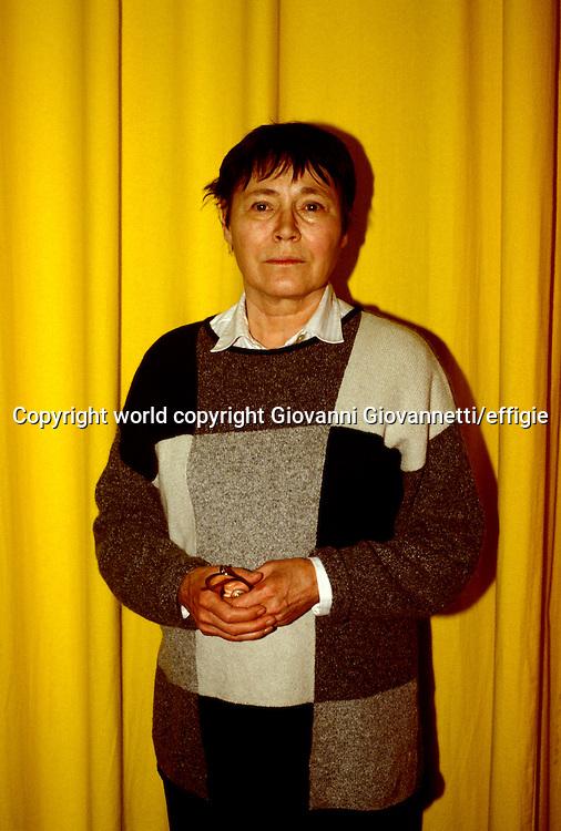 Agota Kristof<br />world copyright Giovanni Giovannetti/effigie
