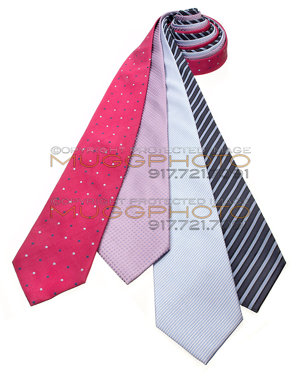 collection of neckties