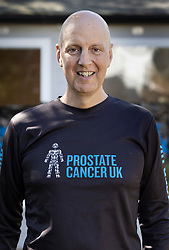 © Licensed to London News Pictures. 05/04/2020. Stoneleigh, UK. Kevin Webber is running the equivalent of all six days of  The Marathon des Sables ultramarathon in his Surrey garden during lockdown. Kevin, who was diagnosed with terminal prostate cancer just over 5 years ago, was due to take part in his 5th consecutive running of what is described as the 'toughest foot race on Earth' through the Sahara Desert in Southern Morocco this month, but the 2020 six day race has been postponed until September. Kevin will be running the entire 230Km (143 miles) 6 stage race in his small back and front gardens, completing 2734 laps, finishing on Easter Saturday. Kevin is raising funds for the National Emergencies Trust Coronavirus Appeal who will distribute the funds to where they are needed most in the UK and he will jointly split what he raises with Prostate Cancer UK. Photo credit: Peter Macdiarmid/LNP