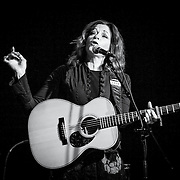 Rosanne Cash performs at The Birchmere in Alexandria, VA on 12/09/2015.