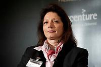"""01 DEC 2010, BERLIN/GERMANY:<br /> Dr. Angelika Dammann, Vorstandsmitglied SAP, Veranstaltung """"CAPITAL Gipfel Generation CEO 2010"""" zum Thema """"DIe Frauen, die Wirtschaft und die Quote"""", Hotel de Rome<br /> IMAGE: 20101201-02-082"""