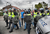 English Defence League protests