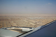 Abu Dhabi Airport. Landing with a Qatar Airways Airbus A320 from Doha.