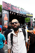 James Spooner at AfroPunk, BAMcinematek and Toyota present the 4th Annual Afro-Punk Festival held at The Afro-Punk Skate Park (BAM parking lot) on July 5, 2008..The festival is the definitive destination for the global Afro-Punks yearning to experience true AP culture. Last year 30,000 people attended, and this year is even bigger, with 40 bands, 15 films screenings, an art exhibit and a skate park.