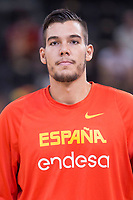 Spain's Willy Hernangomez during friendly match for the preparation for Eurobasket 2017 between Spain and Venezuela at Madrid Arena in Madrid, Spain August 15, 2017. (ALTERPHOTOS/Borja B.Hojas)