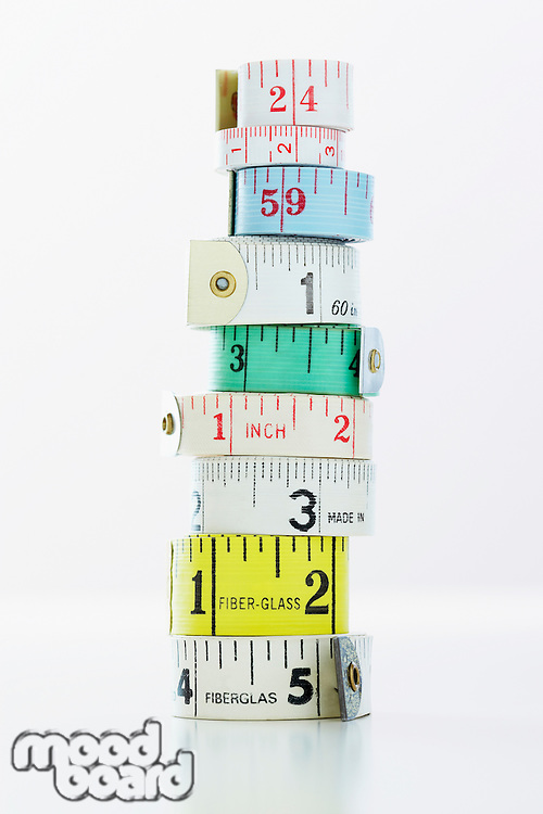 Rolls of Measuring Tape