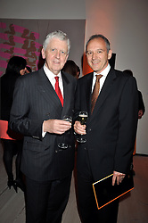 Left to right, GRAHAM BOYES and LORD POWELL at the presentation of the Veuve Clicquot Business Woman Award 2009 hosted by Graham Boyes MD Moet Hennessy UK and presented by Sir Trevor Macdonald at The Saatchi Gallery, Duke of York's Square, Kings Road, London SW1 on 28th April 2009.