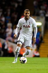 Tottenham Hotspur's Kyle Walker  - Photo mandatory by-line: Dougie Allward/JMP - Tel: Mobile: 07966 386802 27/08/2013 - SPORT - FOOTBALL - White Hart Lane - London - Tottenham Hotspur V Dinamo Tbilisi -  UEFA EUROPA LEAGUE - PLAY-OFF - SECOND LEG