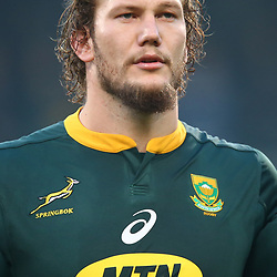 RG Snyman of South Africa during the 2018 Castle Lager Incoming Series 2nd Test match between South Africa and England at the Toyota Stadium.Bloemfontein,South Africa. 16,06,2018 Photo by (Steve Haag JMP)