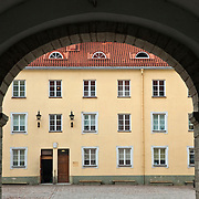 Courtyard of Parliment Building in Tallinn, Estonia