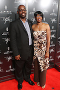 """Vehicle Designer Earl Lucas and Guest at """" Lincoln After Dark """" sponsored by Lincoln Motors and hosted by Idris Elba and Steve Harvey and music by Biz Markie during the 2009 Essence Music Festival and held at The Contemporary Arts Center in New Orleans on July 4, 2009"""