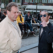 Boekpresentatie Broodje Halfom Bart Chabot, Maarten Spanjer en Jules Deelder