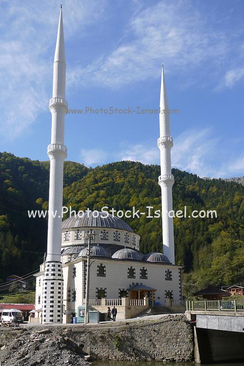 Turkey, Uzungol, Mosque