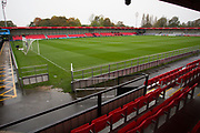 General view of Salford City Peninsula Stadium. EFL Sky Bet League 2 match between Salford City and Scunthorpe United at the Peninsula Stadium, Salford, United Kingdom on 26 October 2019.