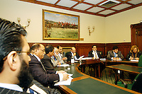 LONDON, 9 Nov. 2005...4.30pm ? 6.00pm ? Transforming humanitarian disaster into opportunities for peace...Panelists and participants sit side by side debating the topic at hand. ....The Justice Foundation Kashmir Centre London together with the All-Party Parliamentary Group (APPG) on Kashmir organised a meeting in the House of Commons entitled ?Kashmir After the Earthquake ? Rebuilding Together.?