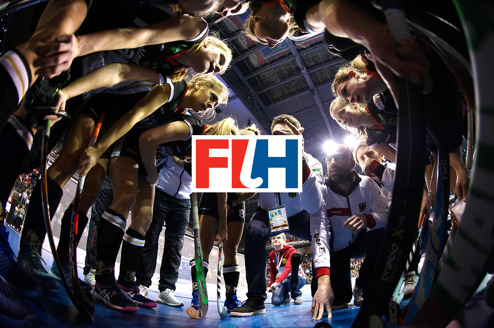 BERLIN - Indoor Hockey World Cup<br /> Quarterfinal 3: Germany - Poland<br /> foto: BOUCHOUCHI Akim.<br /> WORLDSPORTPICS COPYRIGHT FRANK UIJLENBROEK