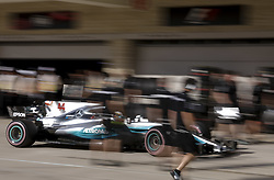 October 21, 2017 - Austin, United States of America - Motorsports: FIA Formula One World Championship 2017, Grand Prix of United States, ..#44 Lewis Hamilton (GBR, Mercedes AMG Petronas F1 Team) (Credit Image: © Hoch Zwei via ZUMA Wire)