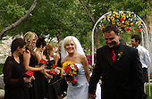 Chelsea and Cyril's outdoors Utah wedding