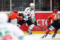Raphael Bussieres of Olimpija during ice hockey match between HDD SIJ Acroni Jesenice and HDD Olimpija Ljubljana in Final of Slovenian League 2016/17, on April 9, 2017 in Podmezaklja, Jesenice, Slovenia. Photo by Matic Klansek Velej / Sportida