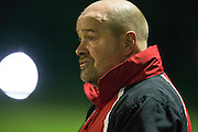 Challenge Cup at MDL, Navan, 4th March 2016<br /> Navan Cosmos vs Rathkenny<br /> Rathkenny Manager, Vincent Lenehan<br /> Photo: David Mullen /www.cyberimages.net / 2016