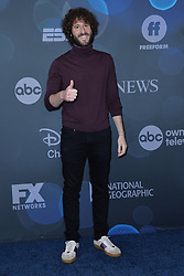 May 14, 2019 - New York, NY, USA - May 14, 2019  New York City..Lil Dicky attending Walt Disney Television Upfront presentation party arrivals at Tavern on the Green on May 14, 2019 in New York City. (Credit Image: © Kristin Callahan/Ace Pictures via ZUMA Press)
