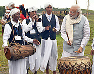Indian PM Modi Beats Drum