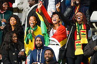 Supporters Ghana  - 31.03.2015 - Ghana / Mali  - Match amical<br /> Photo : Andre Ferreira / Icon Sport