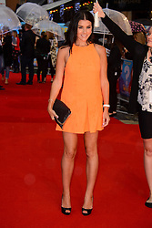 Image ©Licensed to i-Images Picture Agency. 12/08/2014. London, United Kingdom. <br /> Imogen Thomas attends the What If - UK film premiere. Leicester Square. Picture by Chris Joseph / i-Images