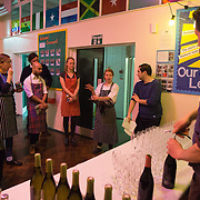 Pop-up benefit gala dinner at Gayhurst Community School in Hackney with head chef Nicole Pisani and a dedicated team of friends and colleagues.