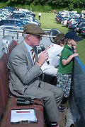 CHRISTOPHER PRICE, The Dalwhinnie Crook  charity Polo match  at Longdole  Polo Club, Birdlip  hosted by the Halcyon Gallery. . 12 June 2010. -DO NOT ARCHIVE-© Copyright Photograph by Dafydd Jones. 248 Clapham Rd. London SW9 0PZ. Tel 0207 820 0771. www.dafjones.com.