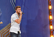 Charles Kelley of Lady Antebellum performs during the Good Morning America Concert Series at Rumsey Playfield in New York City, New York on May 23, 2014.