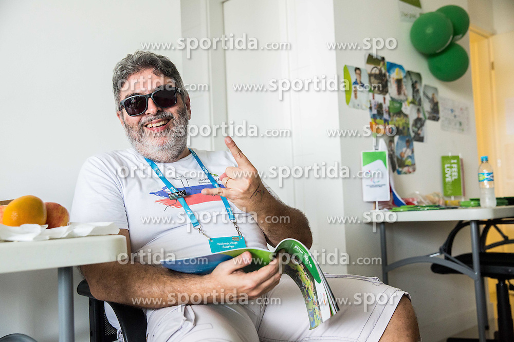 Supporters of Slovenia are seen in a relaxing room of the Paralympic Village 3 days ahead of the Rio 2016 Summer Paralympics Games on September 4, 2016 in Rio de Janeiro, Brazil. Photo by Vid Ponikvar / Sportida