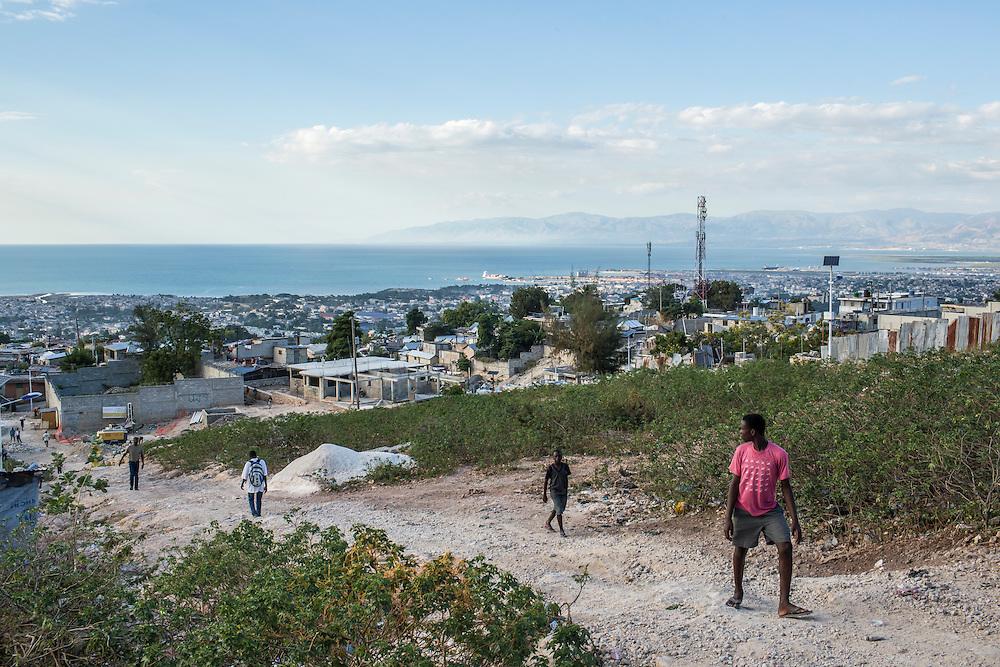 The Tapis Rouge neighborhood on Friday, December 19, 2014 in Port-au-Prince, Haiti.
