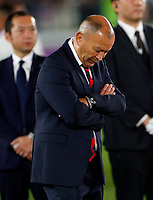 Rugby Union - 2019 Rugby World Cup - Final: England vs. South Africa<br /> <br /> Eddie Jones head coach of England  after the match at International Stadium, Yokohama.<br /> <br /> COLORSPORT/LYNNE CAMERON