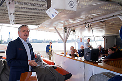 """12-09-2019 NED: Kick-off European Volleyball Men's Championship, Rotterdam<br /> Kick-off for the European Volleyball Men's Championship at the Sailing Ship """"Eendracht"""" with The CEV board, municipal officials of the playing cities, Nevobo and Topsport Rotterdam /"""
