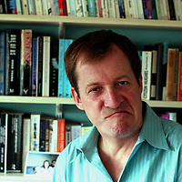 Alastair Campbell at home September 2008<br /> <br /> <br /> Photograph by Phil Weedon/Writer Pictures<br /> <br /> WORLD RIGHTS