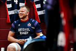Joe Joyce of Bristol Rugby looks on ahead of the game - Rogan/JMP - 05/08/2017 - RUGBY UNION - Cleve RFC - Bristol, England - Bristol Rugby v Harlequins - Pre-Season Friendly.