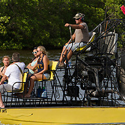 Airboat tours in Everglades City on the Tamiami Trail in South Florida. <br /> Photography by Jose More