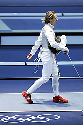 02.08.2012, ExCeL Exhibition Centre, London, GBR, Olympia 2012, Fechten, im Bild VALENTINA VEZZALI (ITA) Fioretto team // during fencing, at the 2012 Summer Olympics at ExCeL Exhibition Centre, London, United Kingdom on 2012/08/02. EXPA Pictures © 2012, PhotoCredit: EXPA/ Insidefoto/ Giovanni Minozzi    ATTENTION - for AUT, SLO, CRO, SRB, SUI and SWE only *****