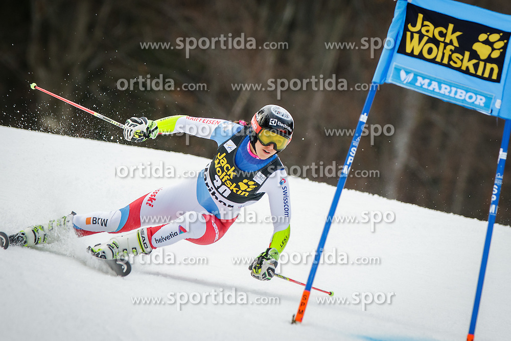 Wendy Holdener (SUI) during 7th Ladies' Giant slalom at 52nd Golden Fox - Maribor of Audi FIS Ski World Cup 2015/16, on January 30, 2016 in Pohorje, Maribor, Slovenia. Photo by Ziga Zupan / Sportida