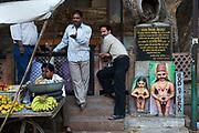 Hindu shrine to fertiliity inside the old city of Jodhpur