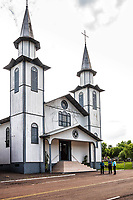 Igreja São Cristovão. Formosa do Sul, Santa Catarina, Brasil. / <br /> Sao Cristovao Church. Formosa do Sul, Santa Catarina, Brazil.