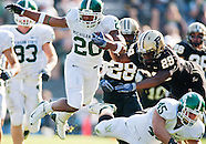 NCAA Football - Purdue University vs Michigan State University - West Lafayette, IN 2