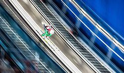 19.02.2015, Lugnet Ski Stadium, Falun, SWE, FIS Weltmeisterschaften Ski Nordisch, Skisprung, Damen, Qualifikation, im Bild Daniela Iraschko Stolz (AUT) // Daniela Iraschko-Stolz of Austria during the Qualification of Ladies Skijumping of the FIS Nordic Ski World Championships 2015 at the Lugnet Ski Stadium, Falun, Sweden on 2015/02/19. EXPA Pictures © 2015, PhotoCredit: EXPA/ JFK