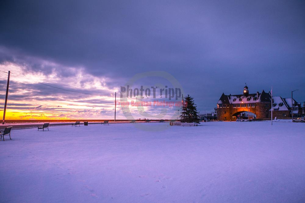 during the Winter Sunrise  at Narragansett Town Beach, Narragansett, RI,  December312012. Photo: Tripp Burman