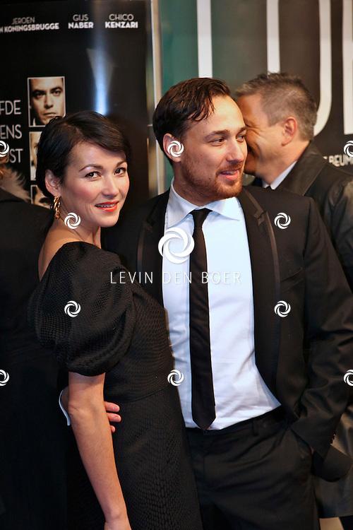 AMSTERDAM - op de premiere van de film Loft dinsdag in Amsterdam. De film is vanaf 16 december in de Nederlandse bioscopen te zien. FOTO LEVIN DEN BOER - PERSFOTO.NU