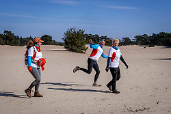 18-03-2018 NED: We hike to change diabetes, Soest<br /> Training voor de Camino 2018 op de Soesterduinen / Juliet, Eric, Mirjam